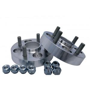 Dystanse ze szpilkami z aluminium 25 mm